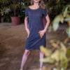 šaty Stripe od FM STUDIO - kvalitní designové oblečení z Vysočiny