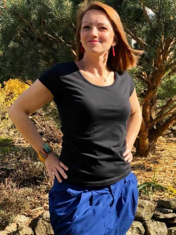 Dámské tričko LADY od FM STUDIO - kvalitní designové oblečení z Vysočiny